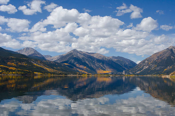 Twin Lakes Autumn Reflection