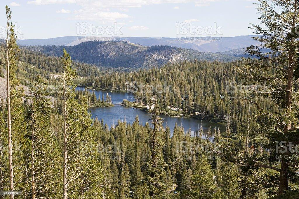 Twin Lakes, Mammoth royalty-free stock photo