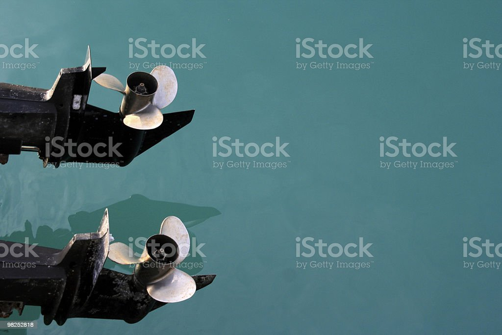 Twin Prop. royalty-free stock photo