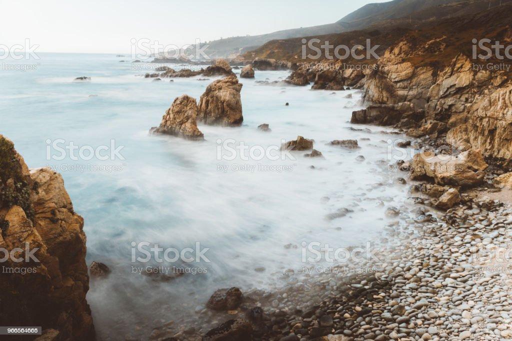 Twin Rock stock photo