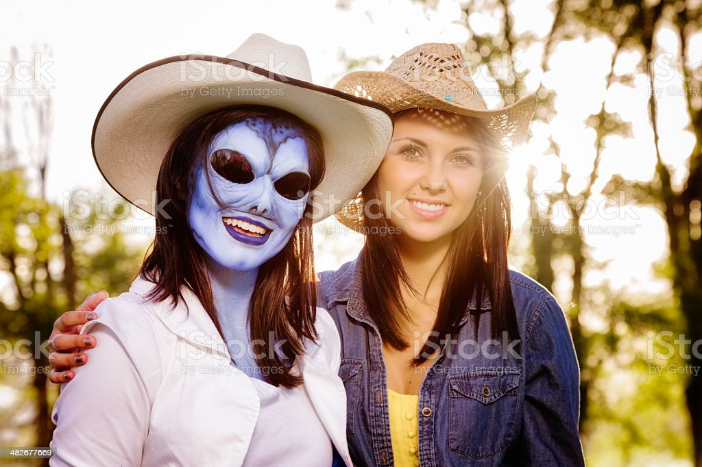 Twin Sister From Outer Space Stock Photo Download Image Now Istock
