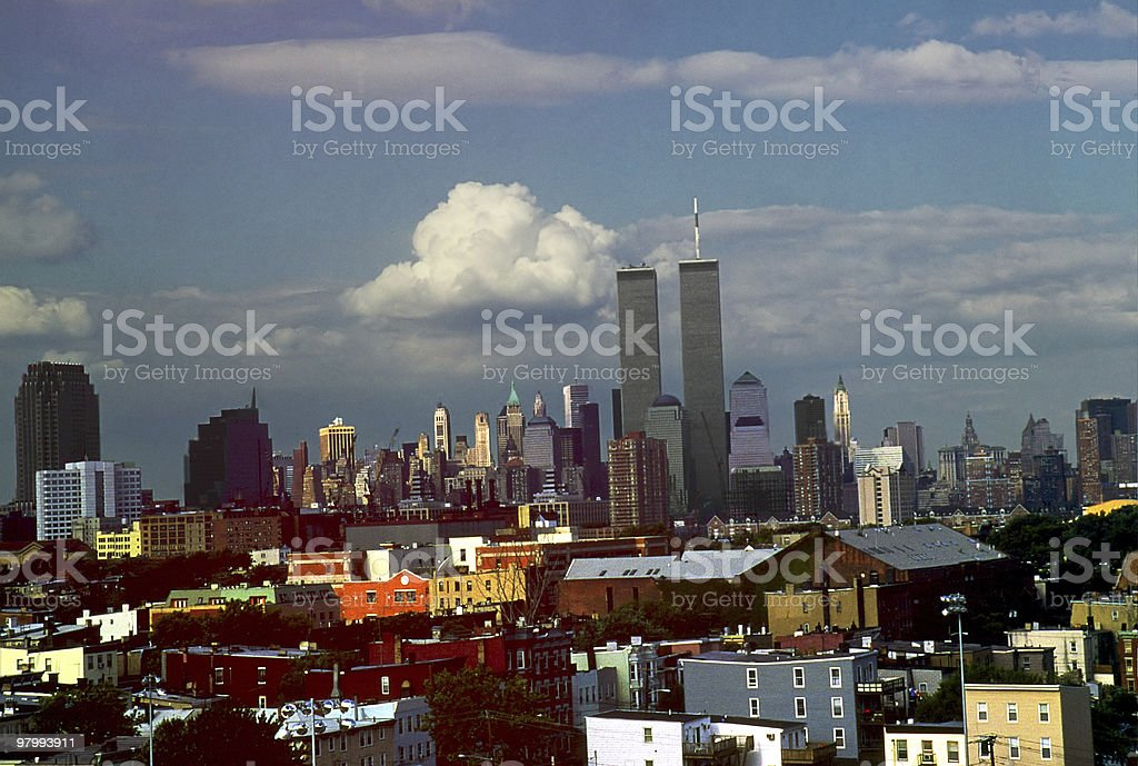 Twin Towers New York ..The Way We Were royalty free stockfoto