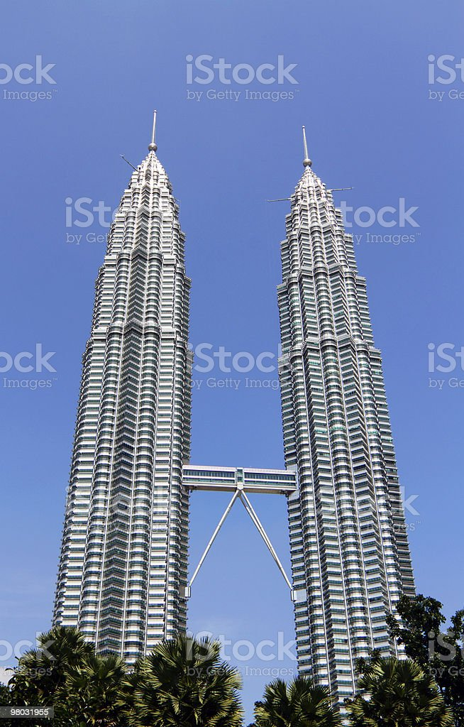 KLCC twin towers royalty-free stock photo