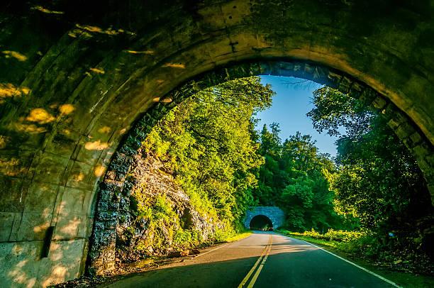 twin tunnel stock photo