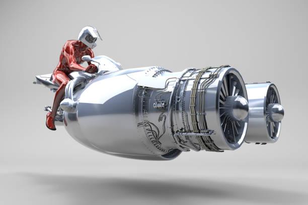 Twin Turbo Jet Turbinenfahrzeug – Foto