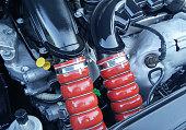 istock Twin Turbo Motor Hoses 477429100