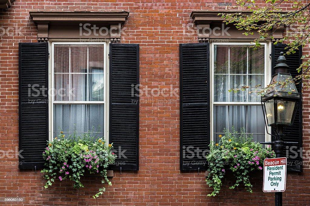 Twin Windows royalty-free stock photo