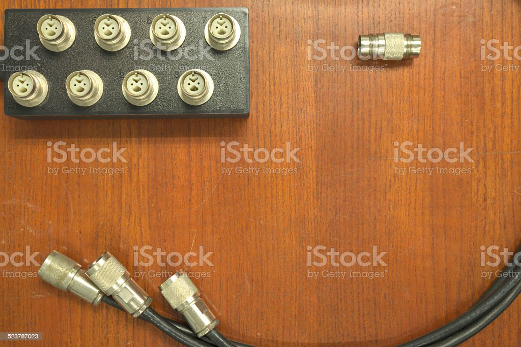 Twinax Cable And Twinax Hub Stock Photo - Download Image Now