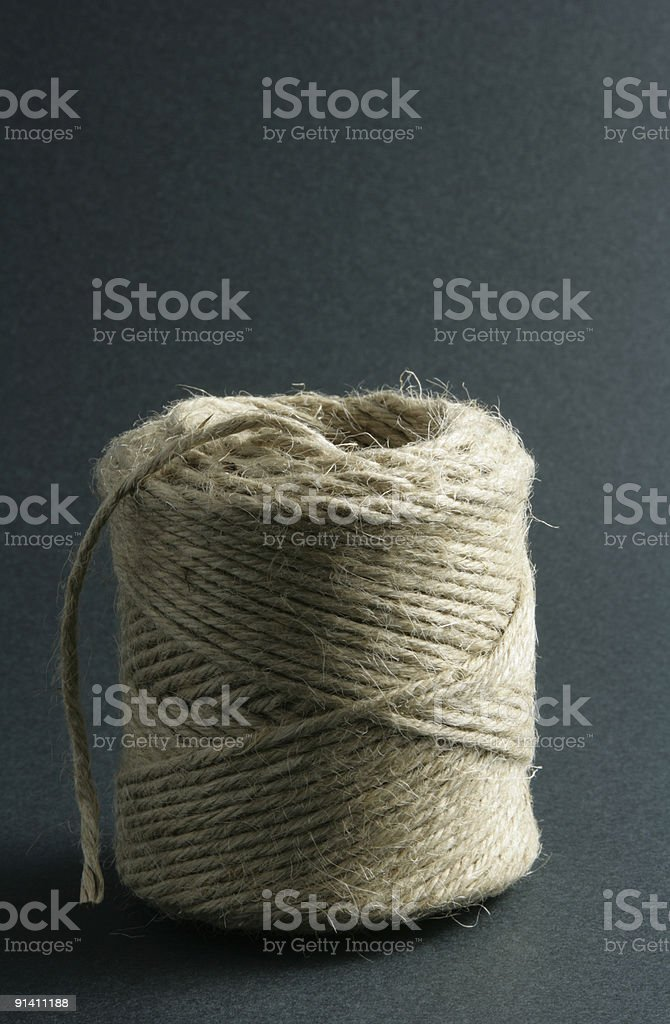 Twine or String royalty-free stock photo