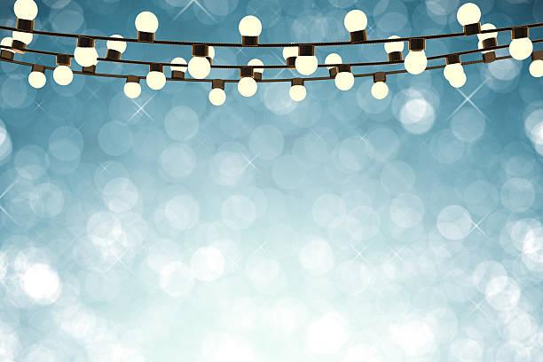 glitzernde lichter - lichtschlauch stock-fotos und bilder