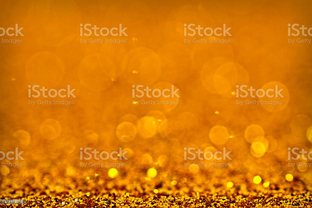 Twinkly Lights and Stars stock photo