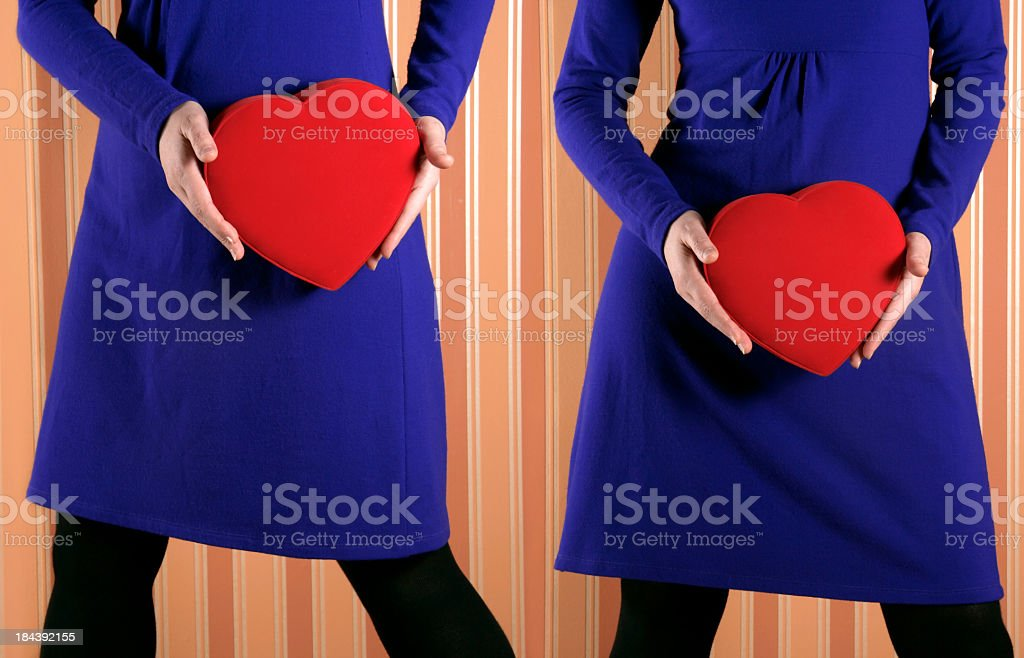 twins love royalty-free stock photo