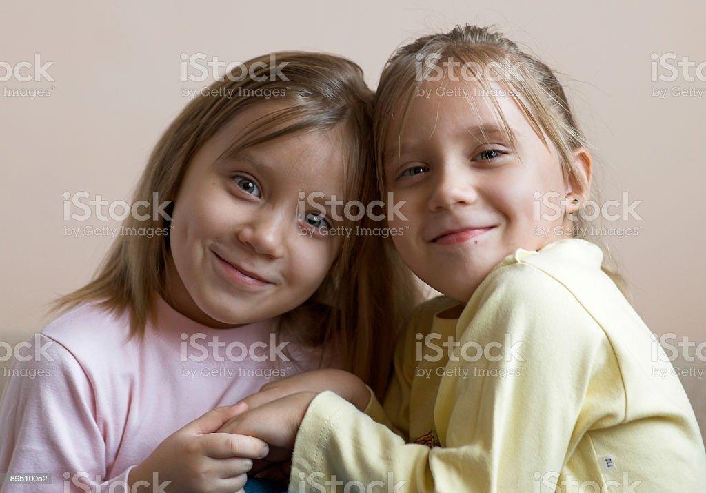 Twins royalty-free stock photo