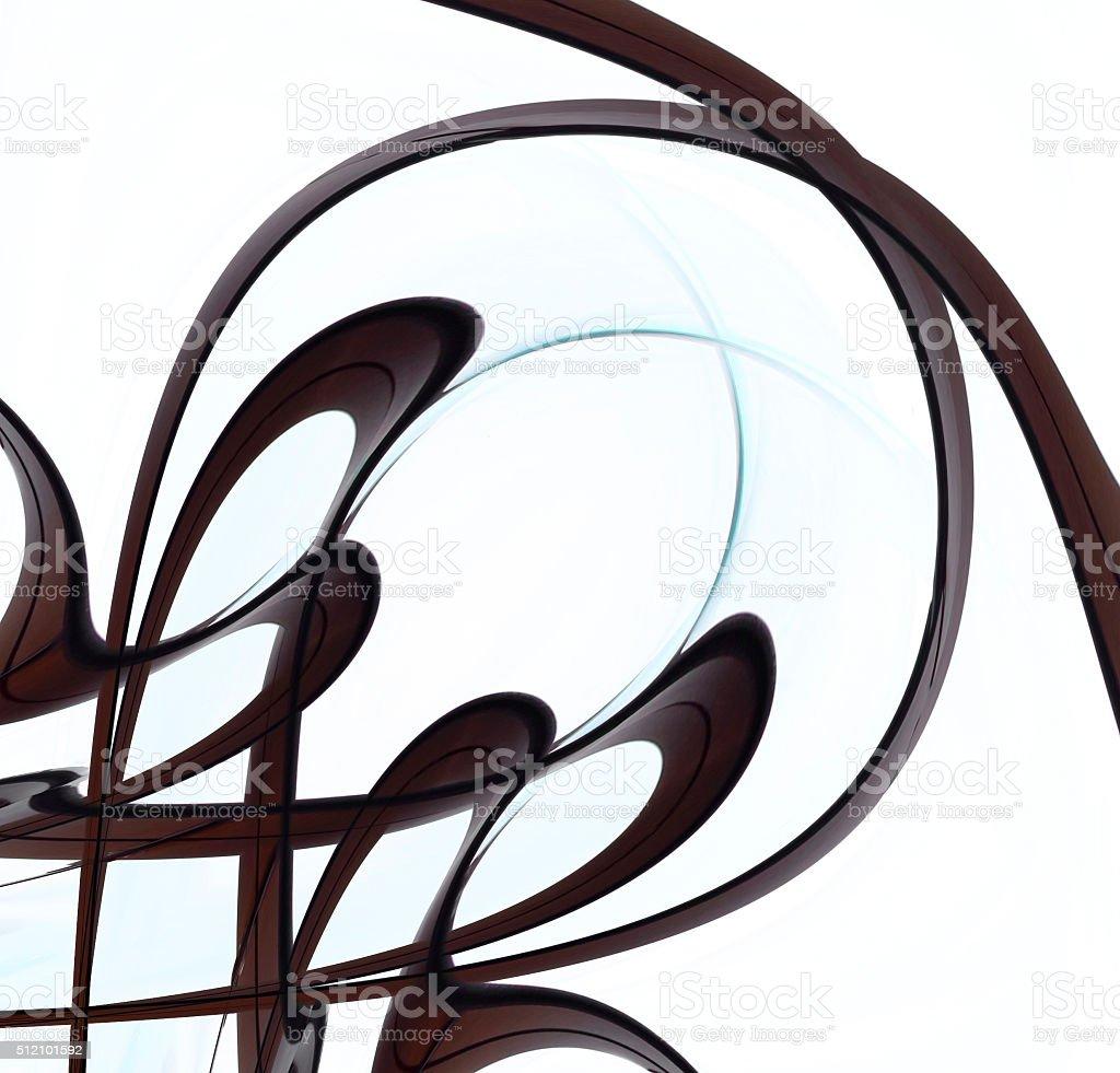 Twirlin Schokolade Farbe Soße Muster Vignette Für Seite Dekoration ...