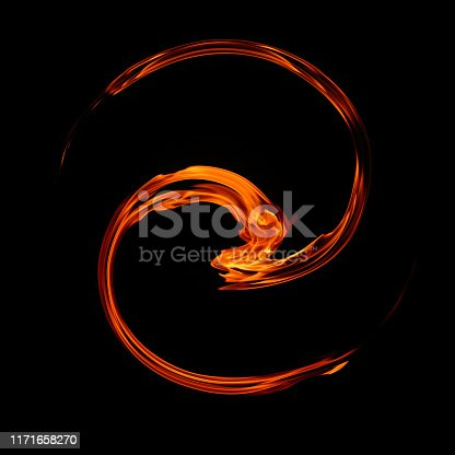 istock twirl motion of fire flame abstract background 1171658270