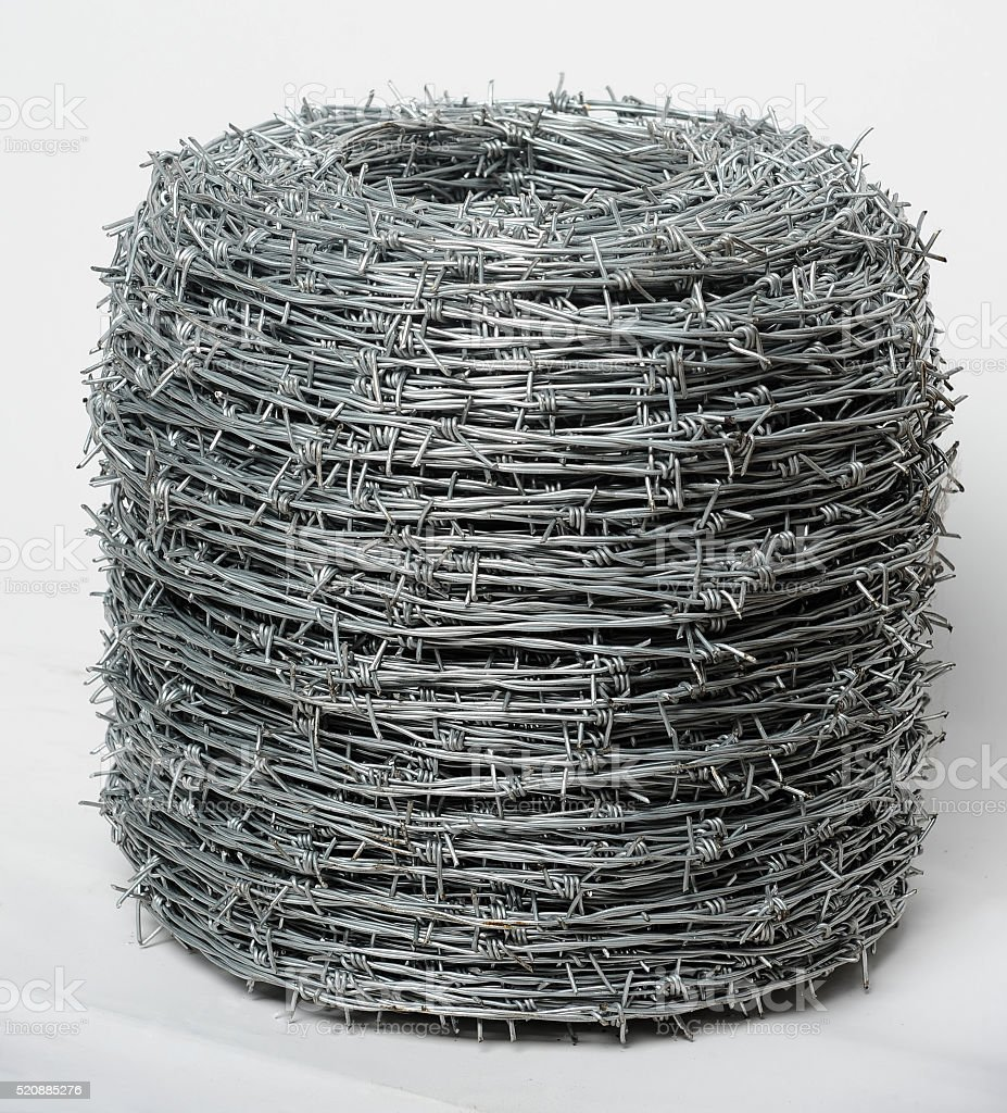Twisted Barbed Wire Stock Photo & More Pictures of Abstract | iStock