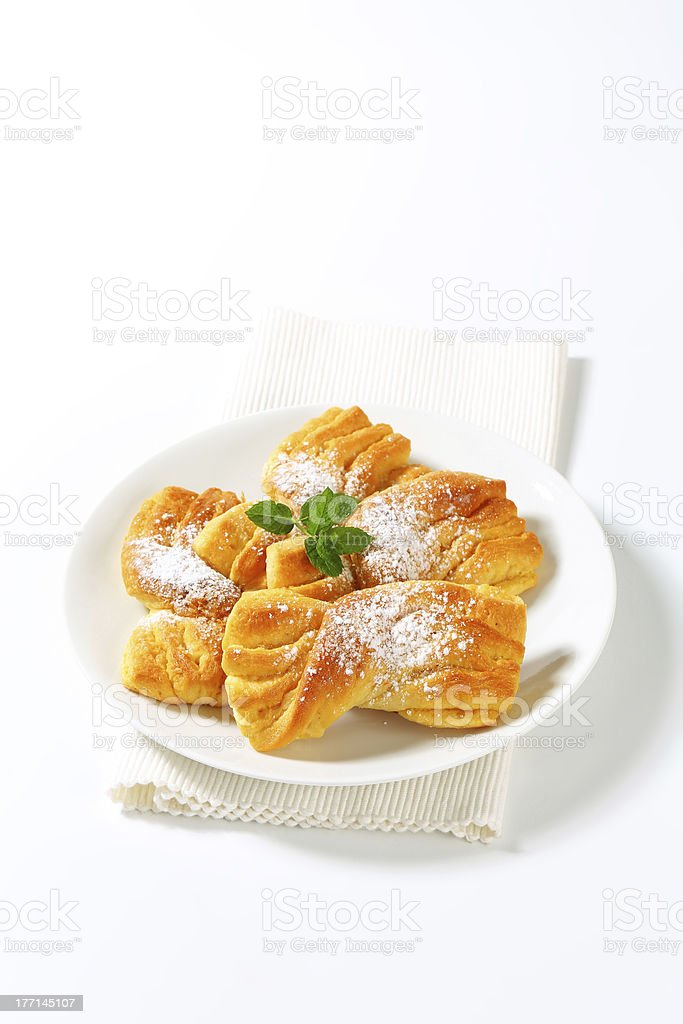 twisted cakes royalty-free stock photo