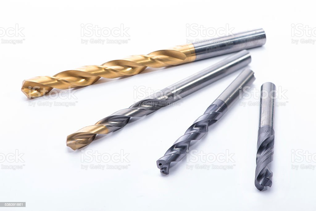 Twisted Drill stock photo