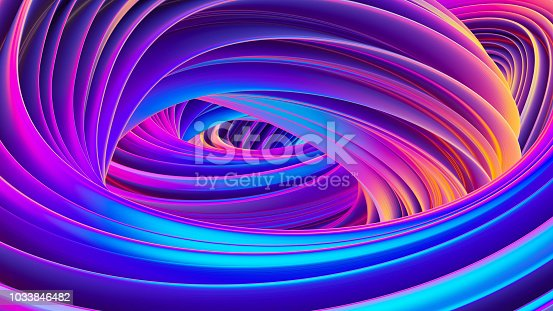 1038727610istockphoto 3D twisted liquid shapes abstract background in holographic colors for trendy Christmas design 1033846482
