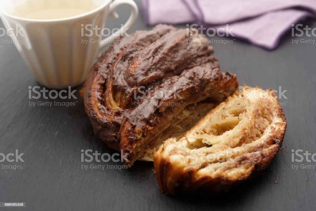 Twisted pastry royalty-free stock photo