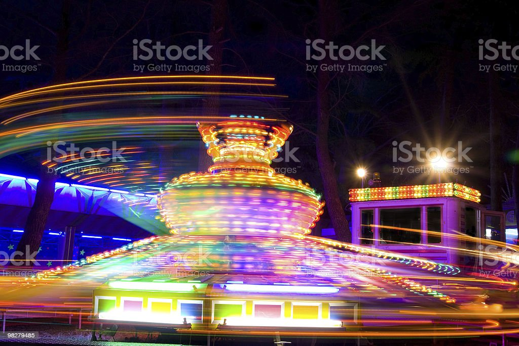 Twister ride royalty-free stock photo