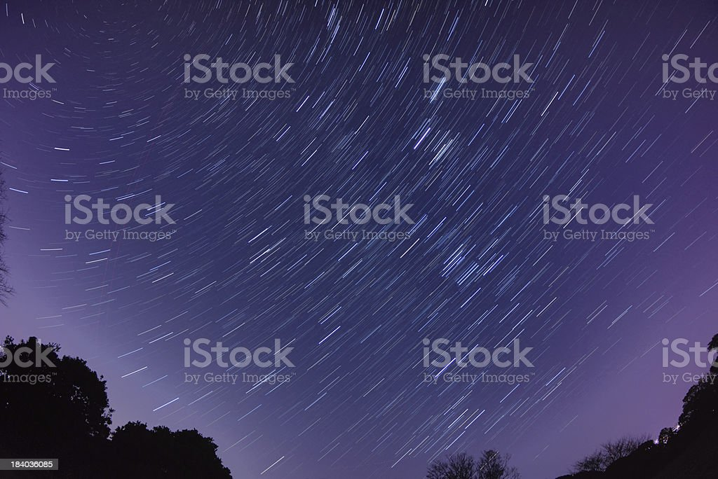Twisting stars royalty-free stock photo