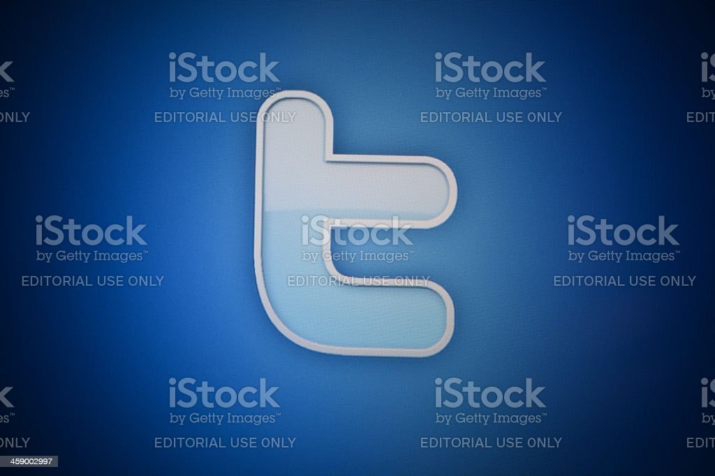 Twitter Logo royalty-free stock photo