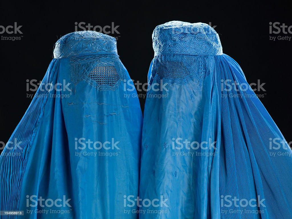 Zwei afghanischen Frauen, die Ihre burkha – Foto