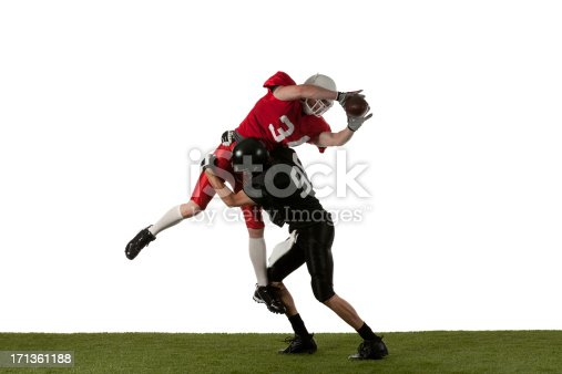 Two american football players in actionhttp://www.twodozendesign.info/i/1.png
