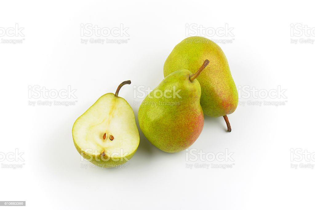 two and half ripe pears – Foto