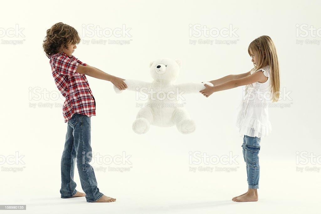 Zwei verärgert Kinder – Foto