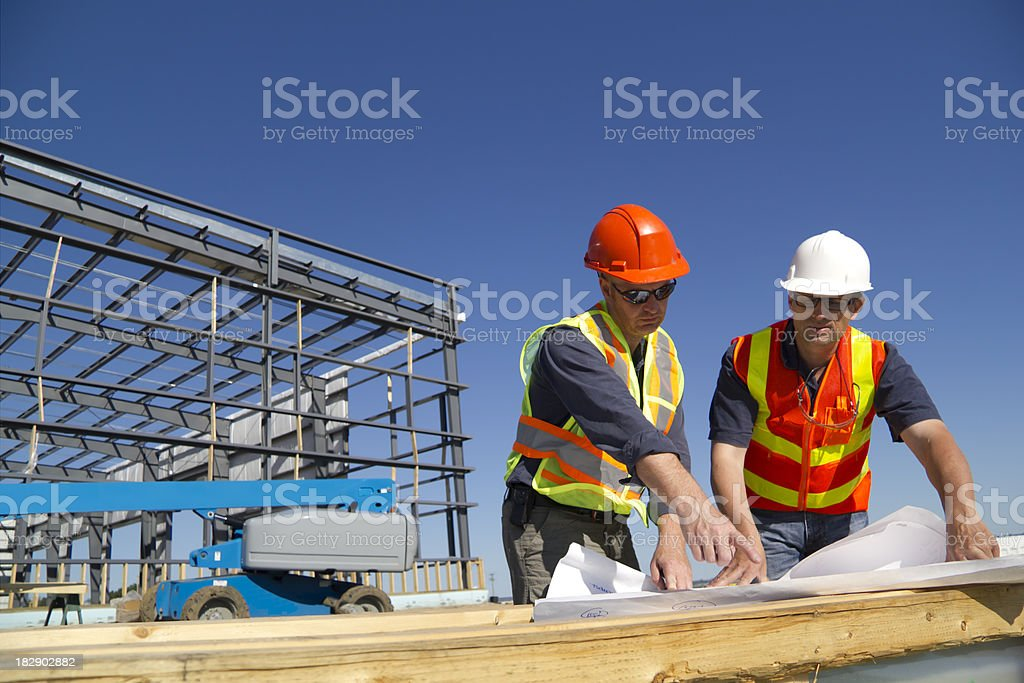 Two Architects stock photo