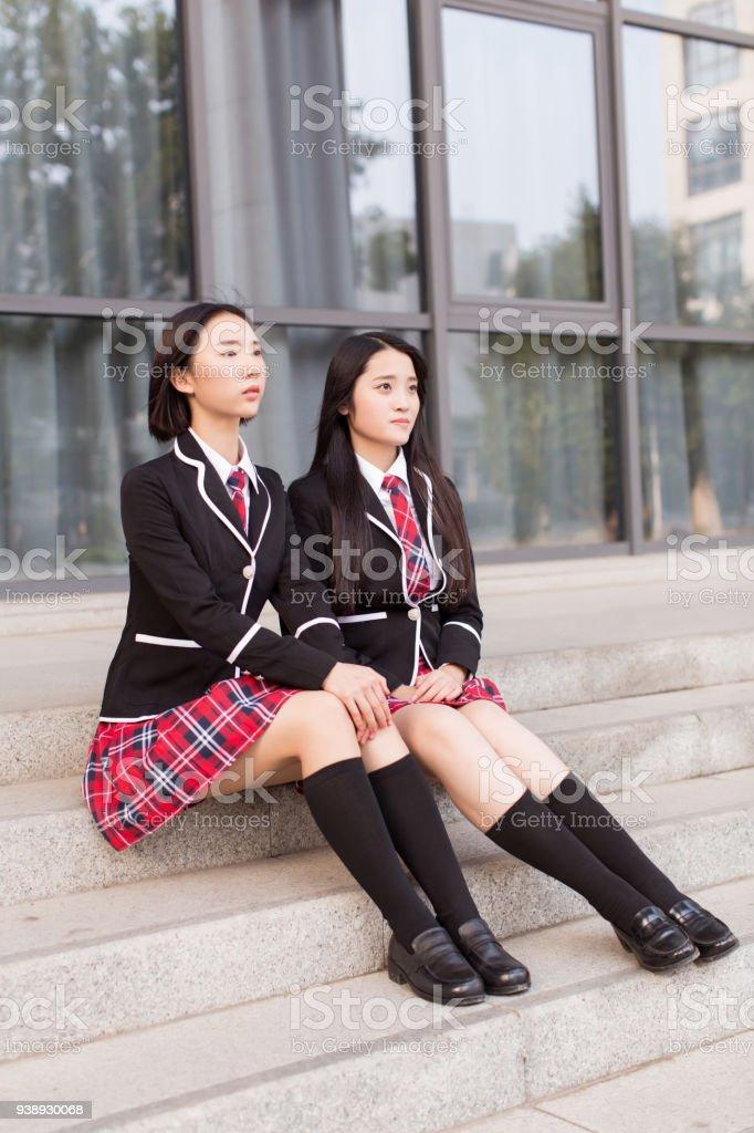 Asiatische Schule Teen Rock