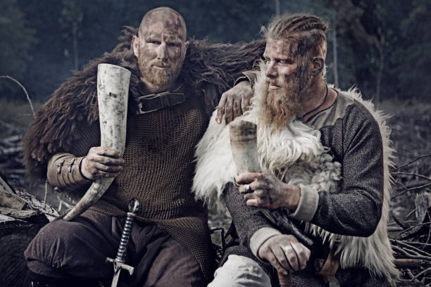 Viking Drinking Stock Photos, Pictures & Royalty-Free Images - iStock