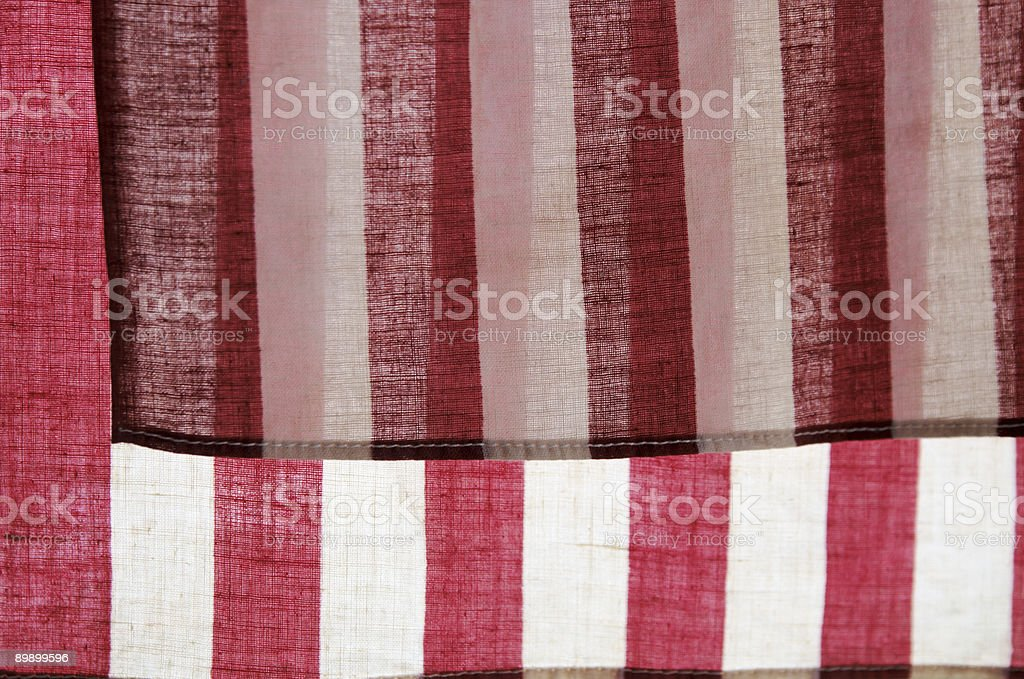 two backlit American flags royalty-free stock photo