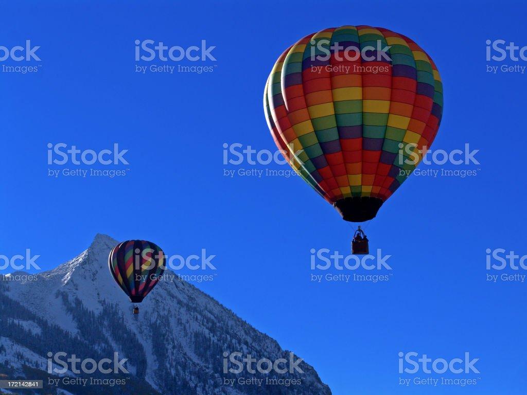 Two Balloons royalty-free stock photo