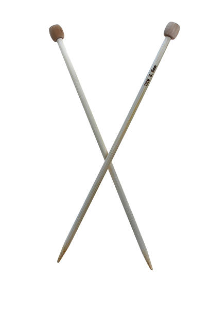 Zwei Bambus needles – Foto