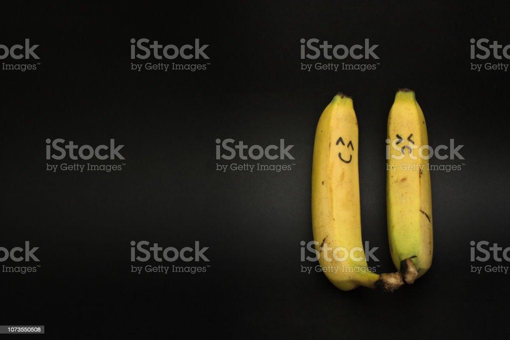 two bananas stand