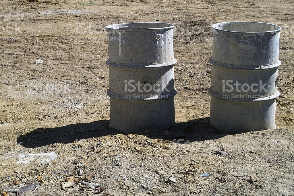 Two Barrels royalty-free stock photo