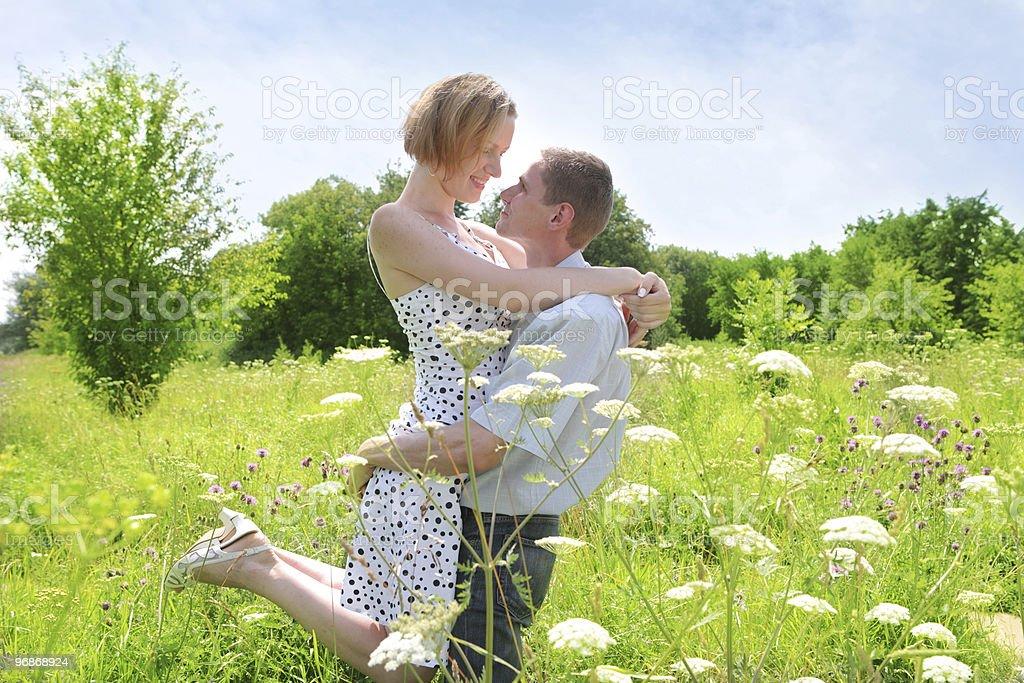 Zwei schöne Liebende Lizenzfreies stock-foto
