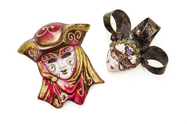 아름다운 masquerade 사육제 마스크 스톡 사진