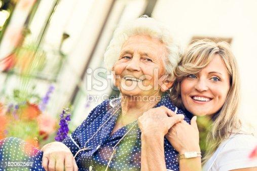 istock Two beautiful women 182062569