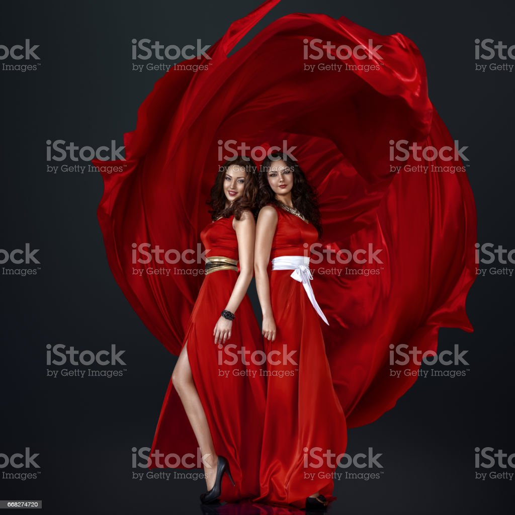 Two beautiful women foto stock royalty-free