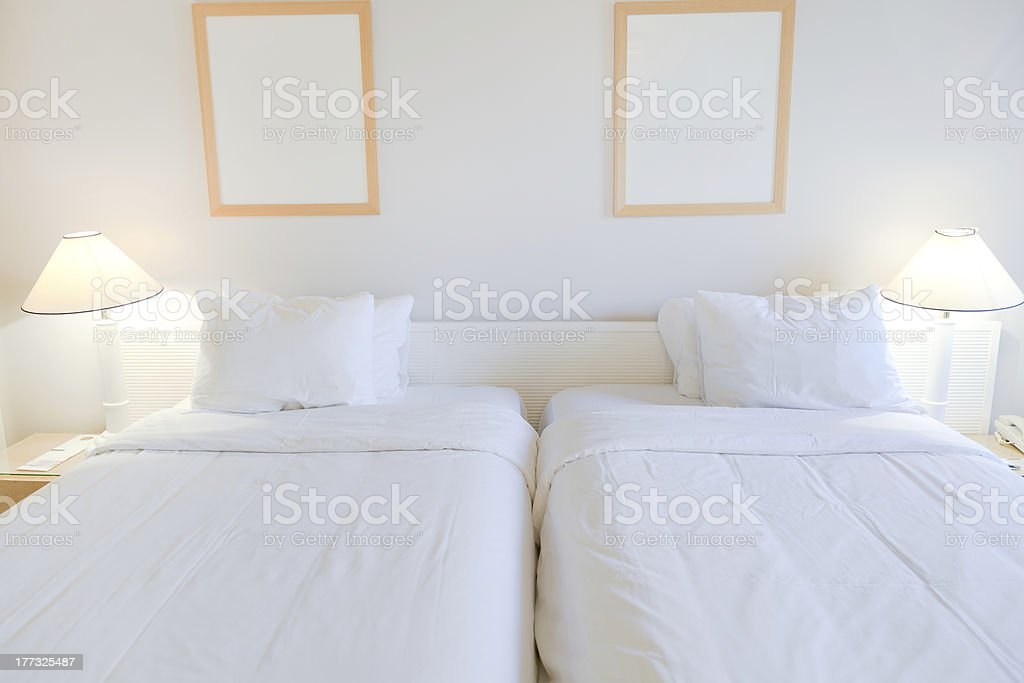 two bed room royalty-free stock photo