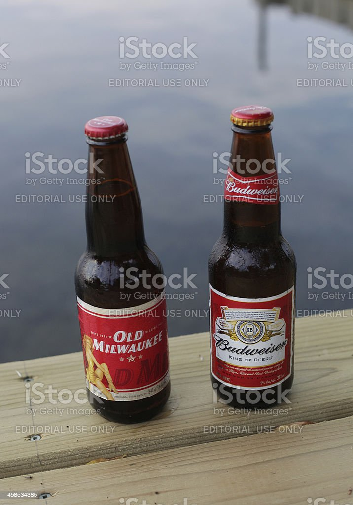 two beer royalty-free stock photo