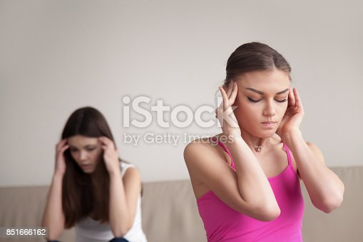 istock Two best friends having time out after bad argument. 851666162