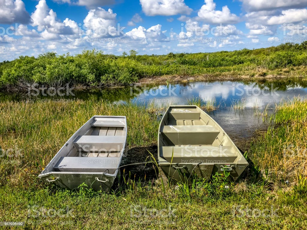 two boat on the shore stock photo