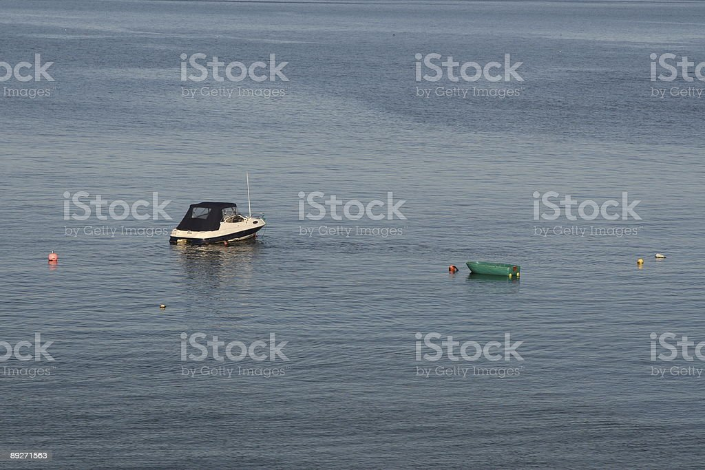 Two Boats stock photo