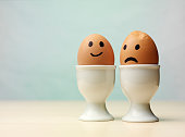 istock Two Boiled Eggs 160631503