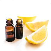Summer sale background with lemons slices. Seamless pattern. Vector illustration. - Illustration